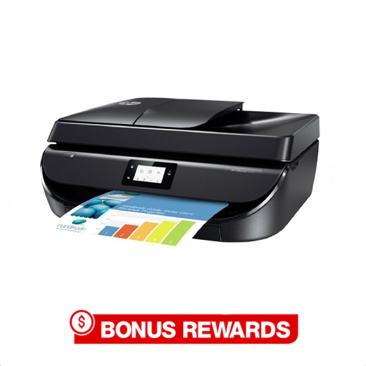 Up to 30% back in rewards on select HP printers