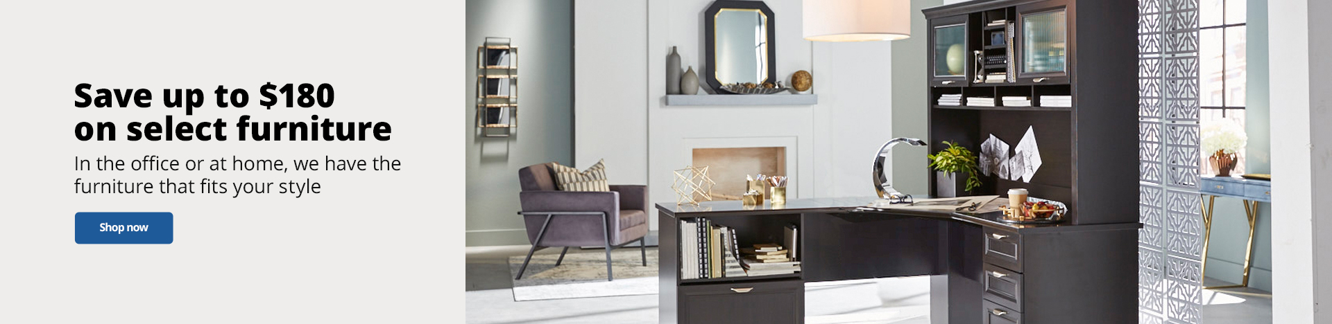 Save Up To $180 on select furniture
