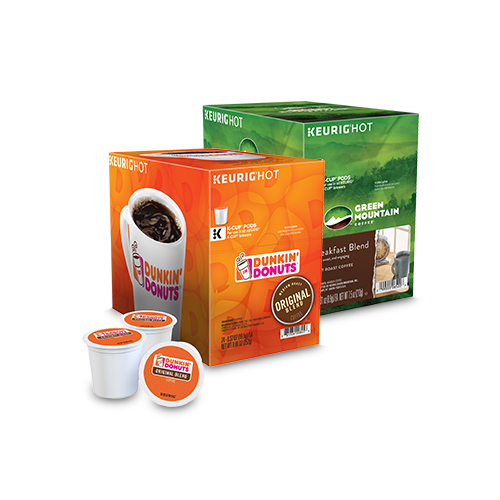 Save up to 25% select K- Cup® Pods