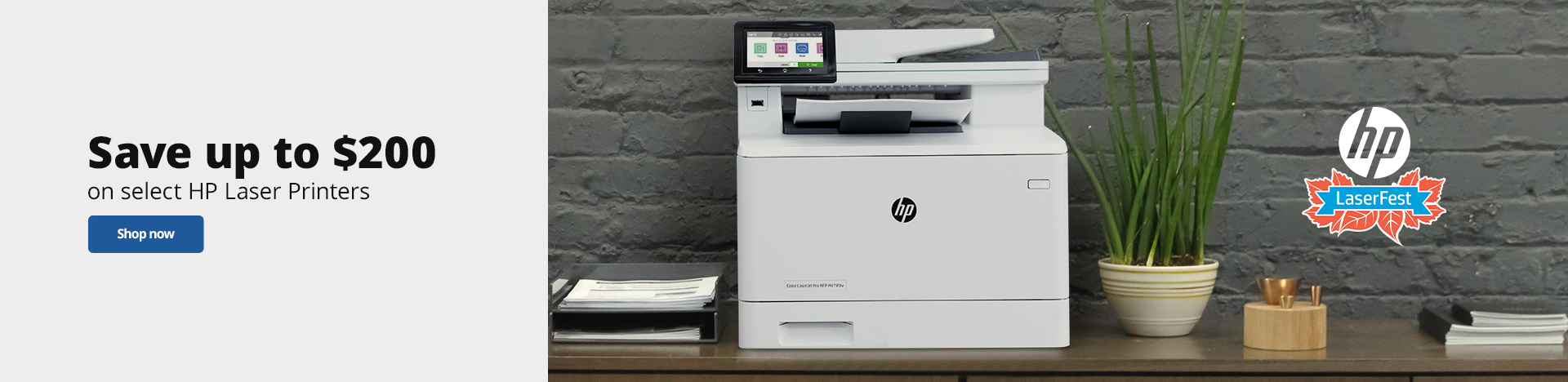 HP Laserfest- Save up to $200 on select HP Printers