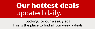Hottest deals of the week. Updated daily.