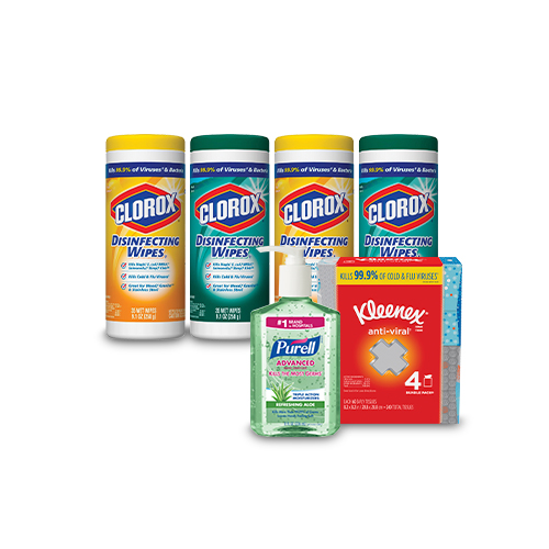 Save over 40% on select Cleaning Essentials