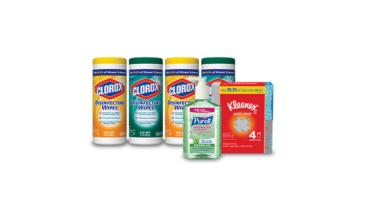 Save up to 20% on Cleaning Essentials
