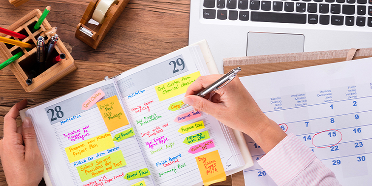 What Your Monthly Planner Says About You