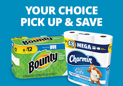 Your Choice - $9 Bounty and Charmin