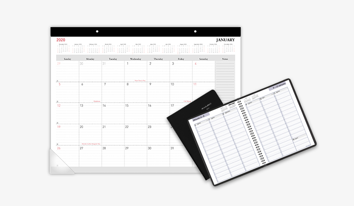 2020 Calendars & Planners starting at $5.99
