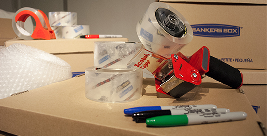 Office Supplies for Moving Solutions