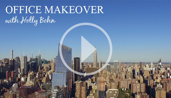 See Jane Work Video: Office Makeover with Holly Bohn