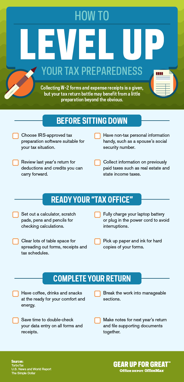 How to Level Up Your Tax Preparedness