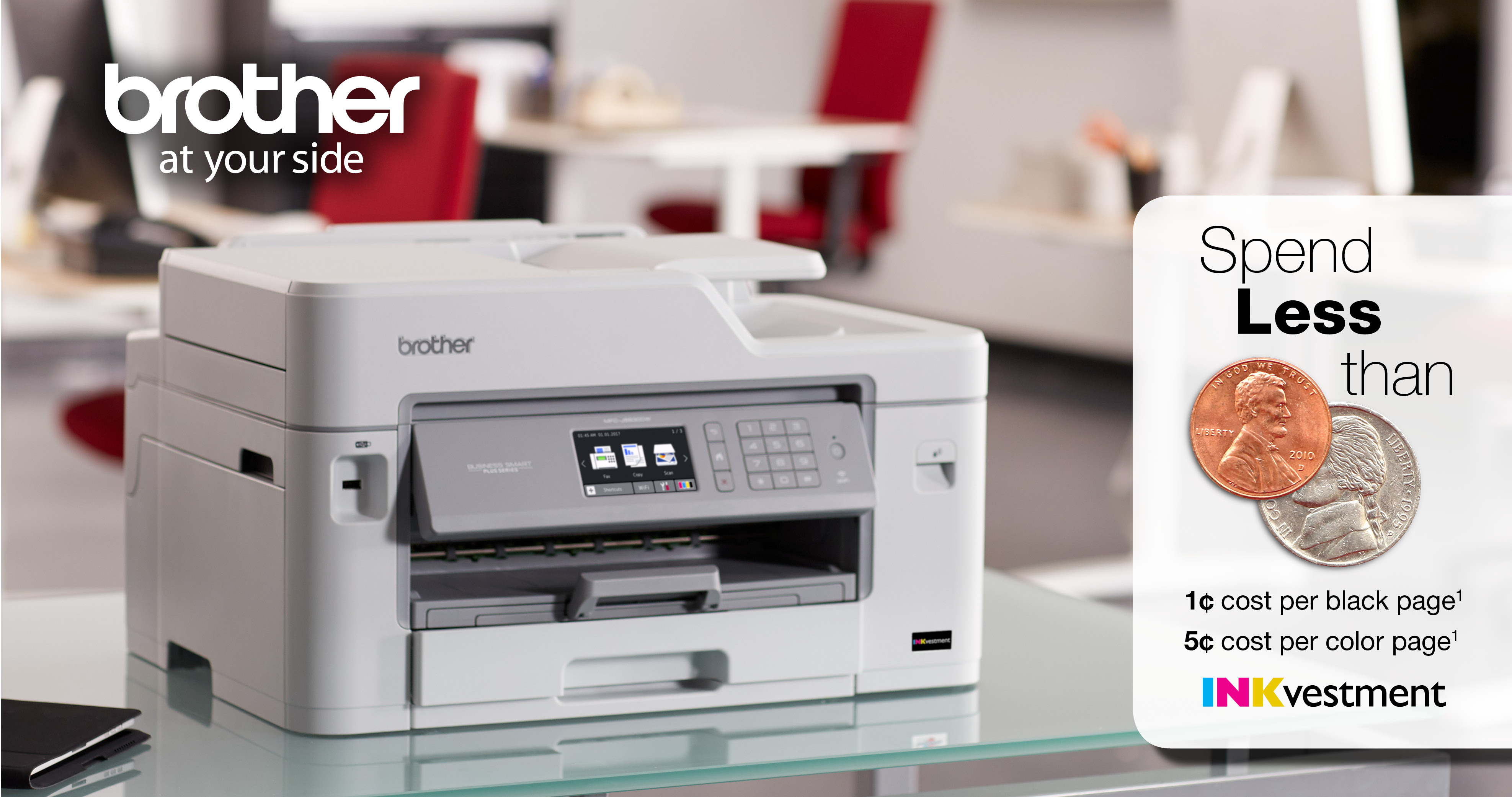 Color printing office depot - Brother Inkvestment Printers