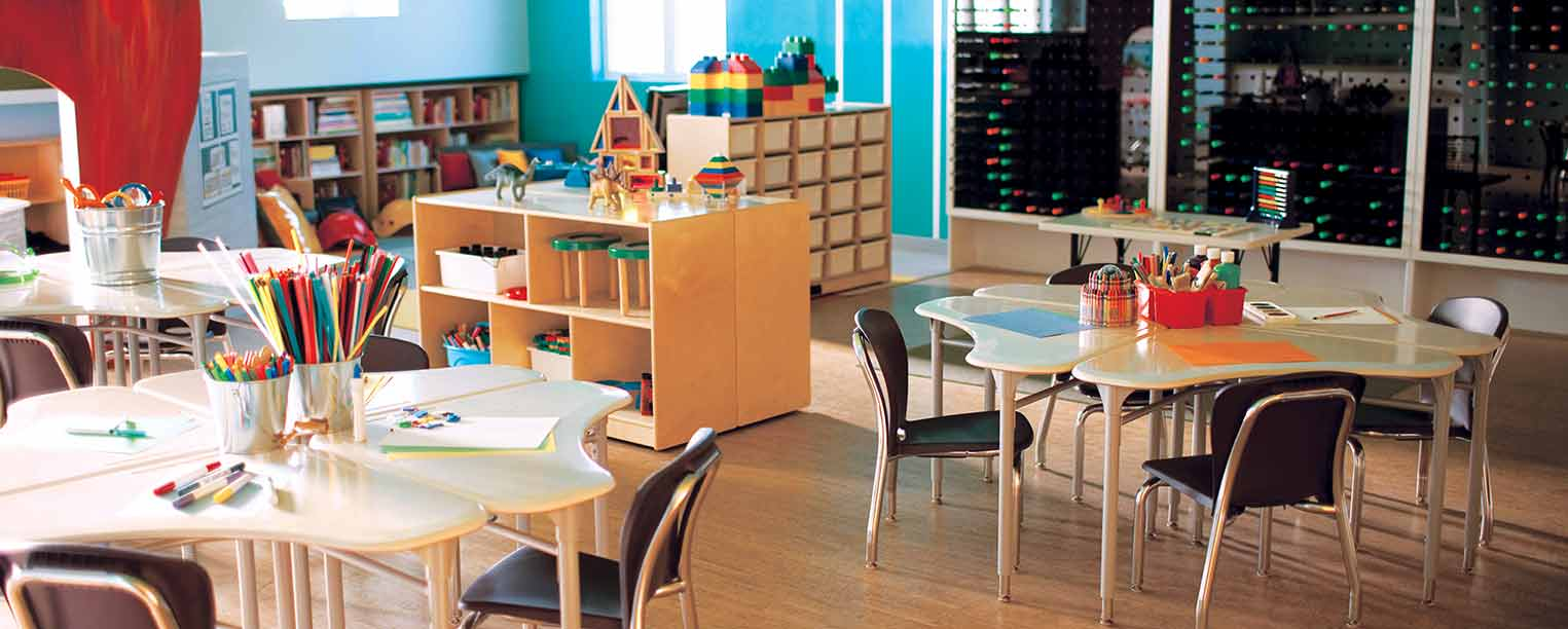 Creative Storage and Displays to Tame Classroom Clutter
