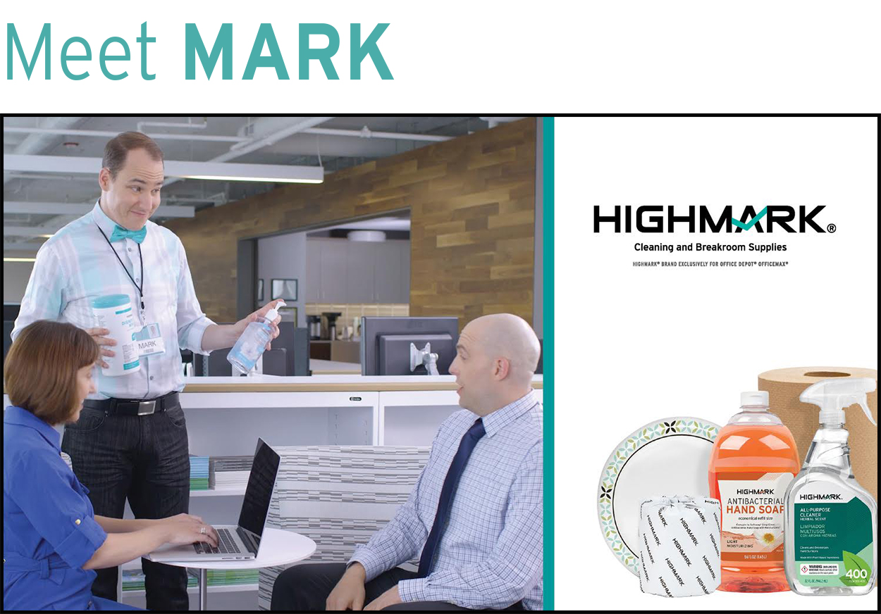 Office depot services register new product - Meet Mark