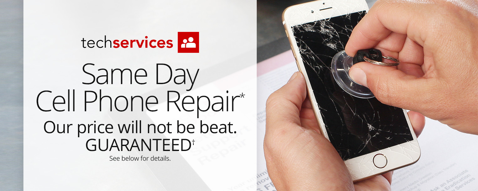 Same Day Cell Phone Repair by Office Depot Tech Services