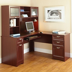 L Shaped Desk With Hutch L Shaped Office Desk With Hutch